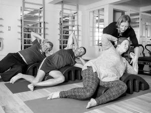 Boise Pilates Mat Classes, Pilates arcs, Group classes